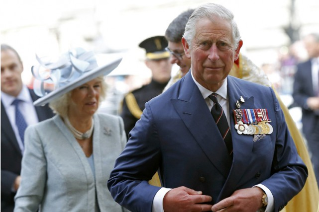 Le prince Charles... (Photo archives AFP)