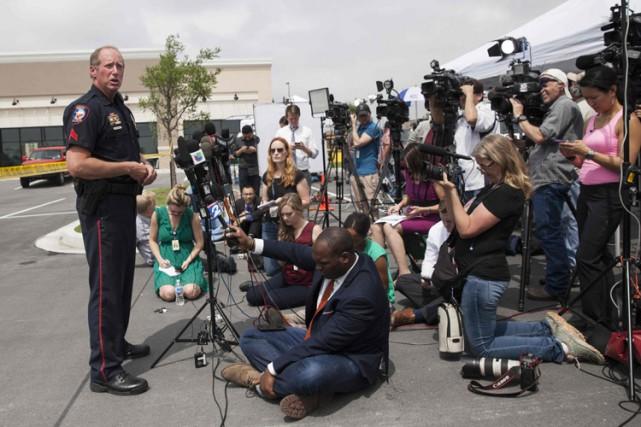 «En 34 ans de service, c'est la scène... (Photo: Reuters)
