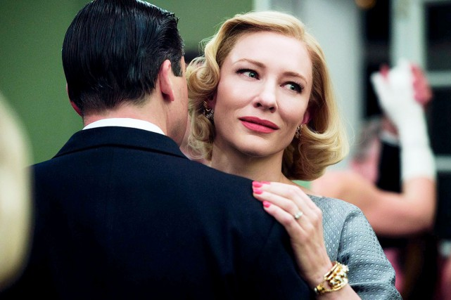 Le film Carol, où l'on retrouve l'actrice Cate... (Photo Festival de Cannes)