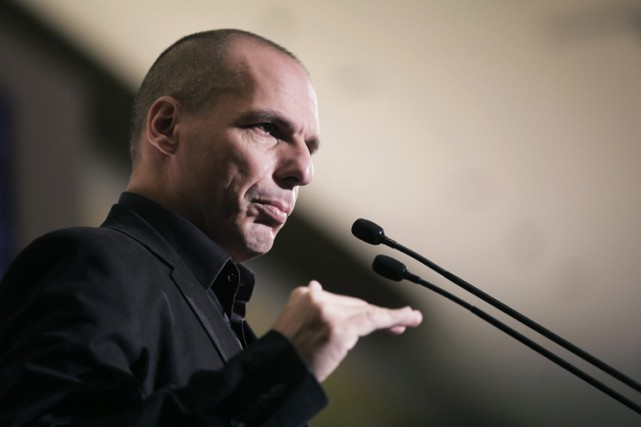 L'ancien ministre grec des Finances, Yanis Varoufakis.... (Photo archives AP)
