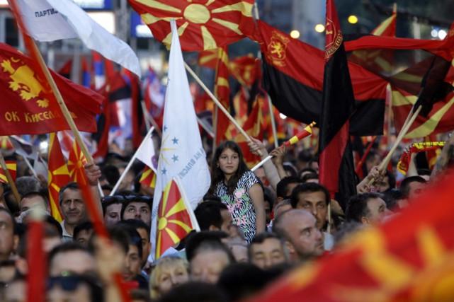 La Macédoine, ex-république yougoslave de 2,1 millions d'habitants... (Photo: AP)