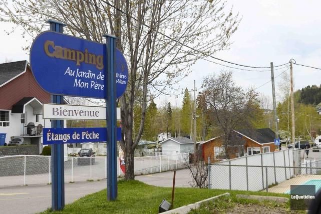 La région comptait 67 terrains de camping en... (Photo Le Quotidien, Jeannot Lévesque)