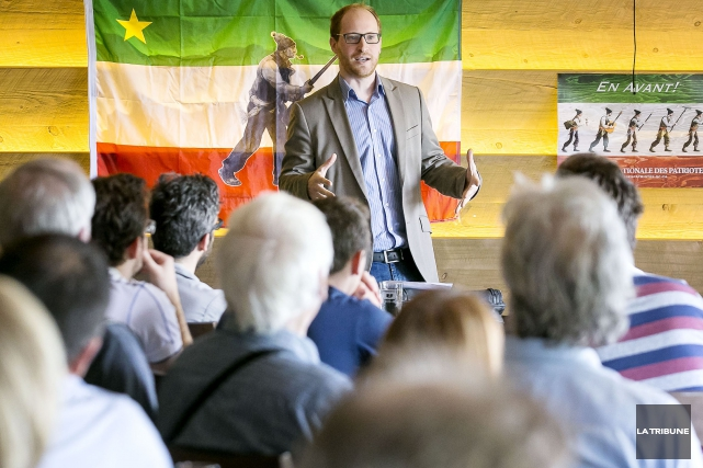 Guillaume Rousseau offrait une conférence au Siboire Jacques-Cartier... (Imacom, Jocelyn Riendeau)