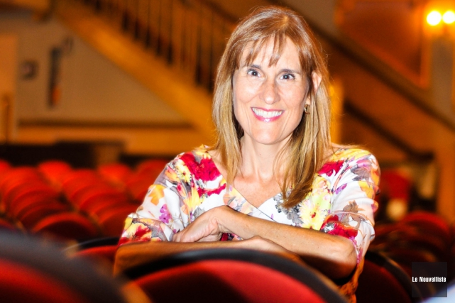 Natalie Rousseau, directrice générale de l'Orchestre symphonique de... (Photo: Émilie O'Connor, Le Nouvelliste)