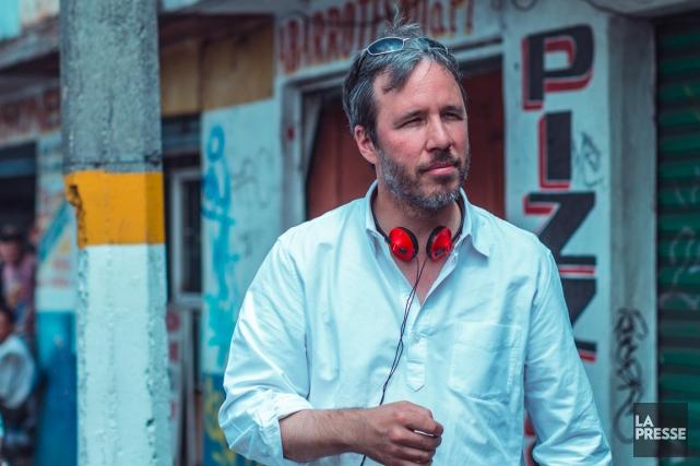 Le cinéaste Denis Villeneuve, photographié sur le plateau... (PHOTO LUIS RICARDO MONTEMAYOR CISNEROS)