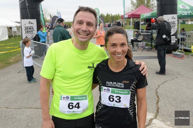 Vincent Morin et Mélanie Nadeau... (Imacom, Maxime Picard)