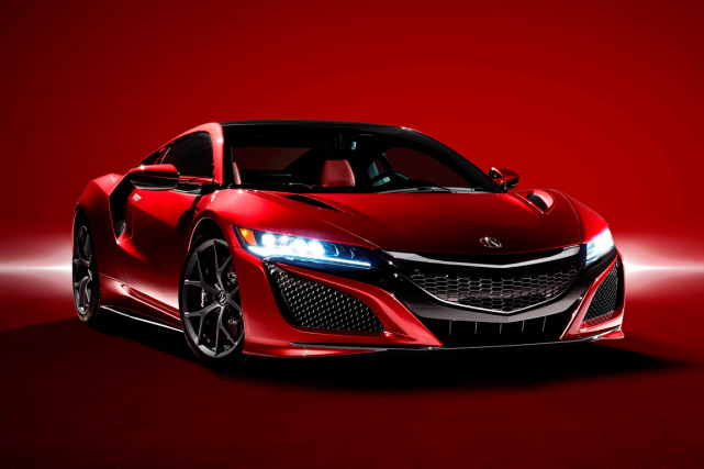 L'Acura NSX... (Photo fournie par Acura)