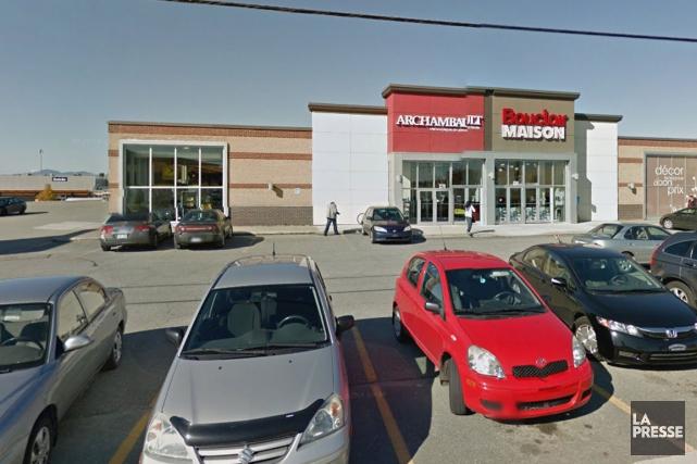 Québecor a annoncé mardi la vente des activités de ventes au détail de Groupe... (Capture d'écran Google Maps)