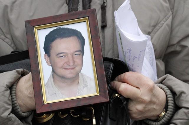Sergueï Magnitski est mort après dix mois de... (PHOTO ALEXANDER ZEMLIANICHENKO, ARCHIVES AP)