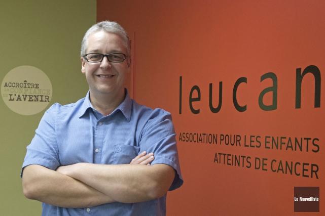 Jean-François Giroux... (Photo: Stéphane Lessard, Le Nouvelliste)