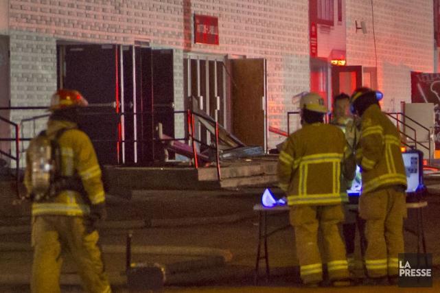 Les pompiers du Service de sécurité incendie de Princeville ont été appelés à... (Archives La Presse)