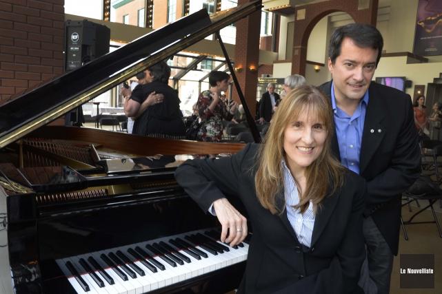 La directrice générale de l'Orchestre symphonique de Trois-Rivières... (Photo: Sylvain Mayer Le Nouvelliste)