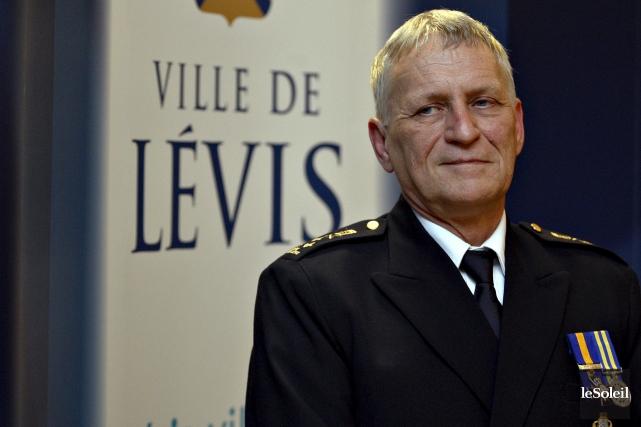 Yves Charette, lors de son assermentation en janvier... (Photothèque Le Soleil, Pascal Ratthé)