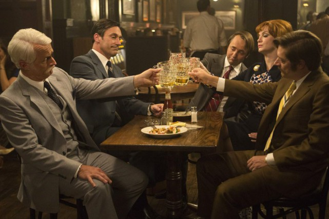 Matthew Weiner, le créateur de Mad Men et... (Photo Justina Mintz/AMC, AP)