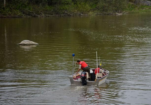 Après une investigation de la rivière Batiscan, la... (Photo: François Gervais)