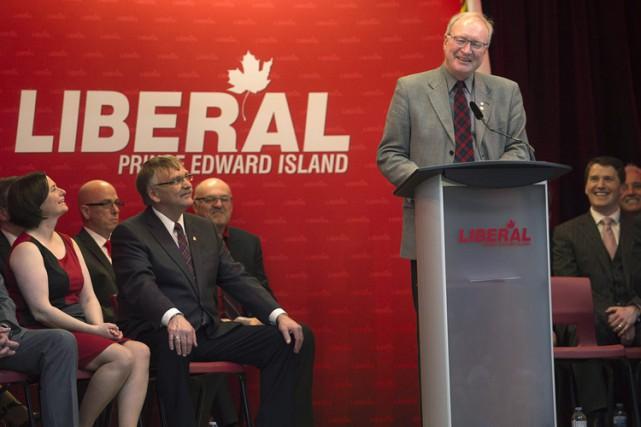Le premier ministre de l'Île-du-Prince-Édouard,Wade MacLauchlan.... (Archives PC)