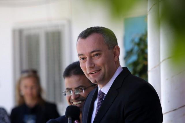 Le nouveau coordinateur spécial de l'ONU au Proche-Orient,... (PHOTO MAHMUD HAMS, AFP)