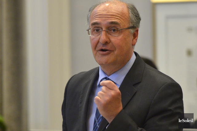 Paul Shoiry, chef de l'opposition et conseiller du... (Le Soleil, Yan Doublet)