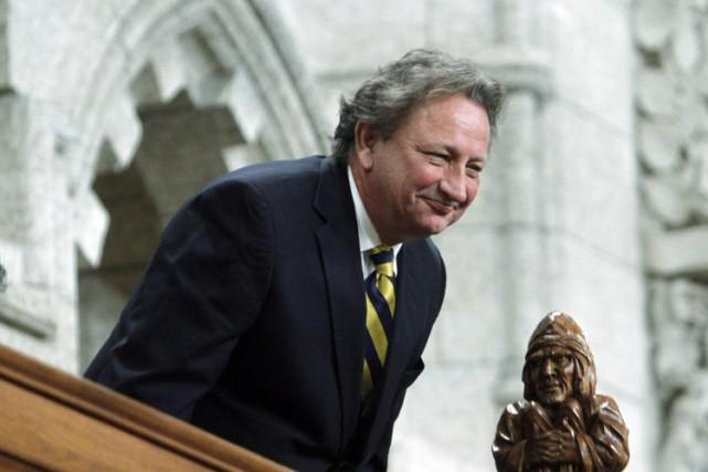 Eugene Melnyk dans la Chambre des communes en... (Archives PC)
