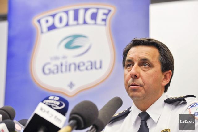 Le chef du Service de police de Gatineau,... (Martin Roy, LeDroit)