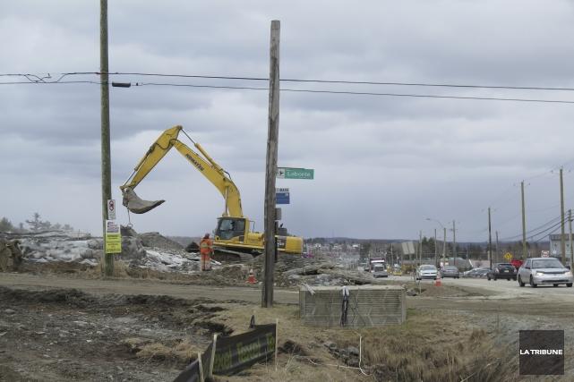 La Ville de Sherbrooke rencontrera les 17 commerçants du boulevard Industriel... (Imacom, René Marquis)