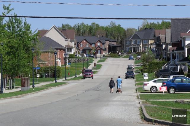 La Ville de Sherbrooke pourrait lever le moratoire sur la construction dans le... (Imacom, René Marquis)