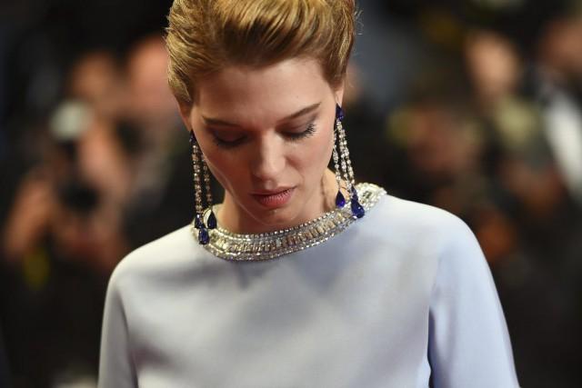 L'actrice française Léa Seydoux est habillée par sa... (PHOTO ANNE-CHRISTINE POUJOULAT, AFP)
