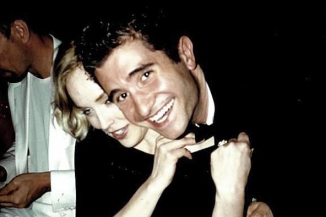 Arnaud Granata avec la star Sharon Stone à... (Photo: Arnaud Granata)
