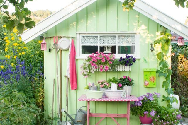 Look champêtre pour ce cabanon aux couleurs de... (Photo fournie par Jacqui Small)