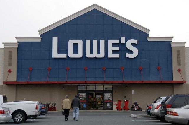 Le détaillant américain Lowe's s'apprête à rencontrer des fournisseurs au... (PHOTO MIKE MERGEN, ARCHIVES BLOOMBERG)