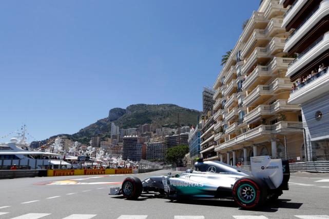 Nico Rosberg a remporté le Grand Prix de... (Photo Luca Bruno, archives AP)
