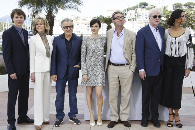 Paul Dano, Jane Fonda, Harvey Keitel, Rachel Weisz,... (Photo: AFP)