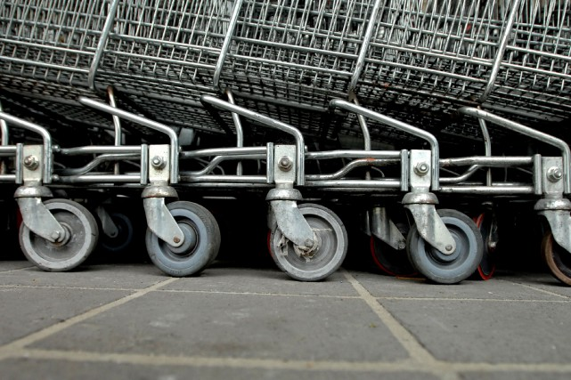 a douzaine de Walmart de la région a... (Photo archives Bloomberg)