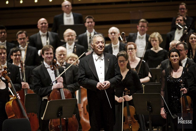 Zubin Mehta, ancien directeur musical de l'OSM, dirigeait... (Photo: André Pichette, La Presse)