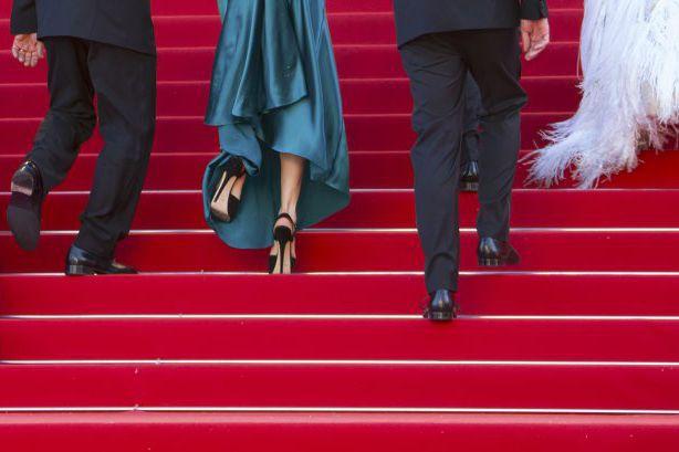 La montée des marches de l'équipe du film... (Photo: Reuters)