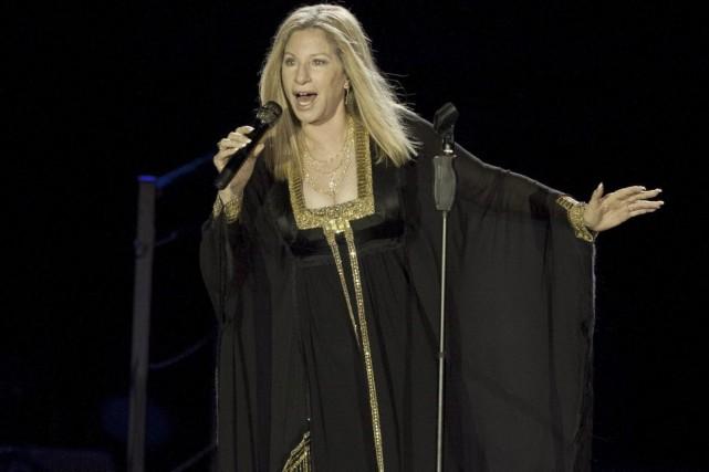 Barbra Streisand s'apprête à publier les mémoires qu'elle promet depuis... (Photo: archives AP)
