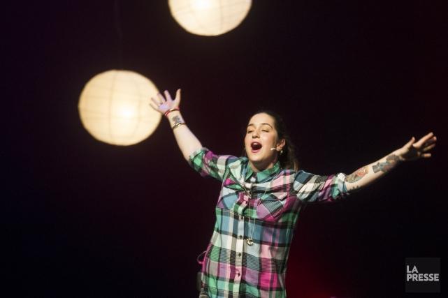 Mariana Mazza participe samedi au spectacle-bénéfice du GRIS... (Archives, La Presse)
