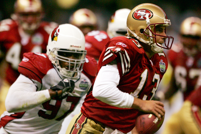 Les Cardinals de l'Arizona ont accueilli les 49ers... (Photo archives Getty Images)