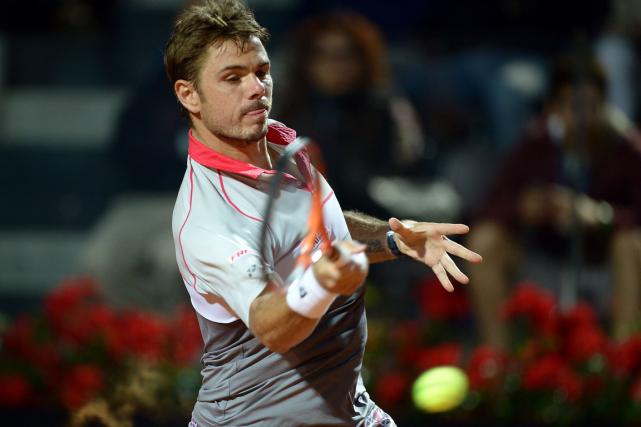 Stanislas Wawrinka... (Photo Filippo Monteforte, archives AFP)