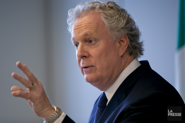 L'ex-premier ministre, Jean Charest... (PHOTO DAVID BOILY, ARCHIVES LA PRESSE)