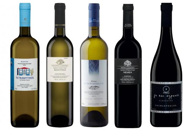 Le 14 mai, la SAQ a mis en vente plusieurs vins grecs qui valent la peine... (Photos fournies par la SAQ)