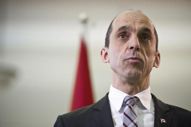 Le ministre canadien de la Sécurité publique, Steven... (La Presse Canadienne, Galit Rodan)