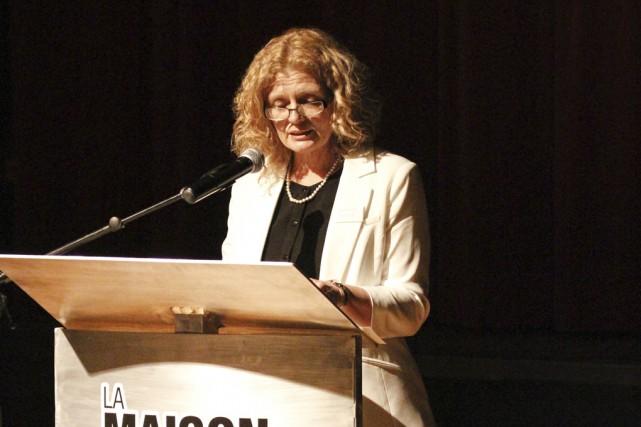 La directrice générale de la Société d'histoire de... (- photo julie catudal)