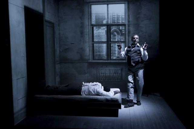 Marc Labrèche joue les personnages de Robert et... (Courtoisie)