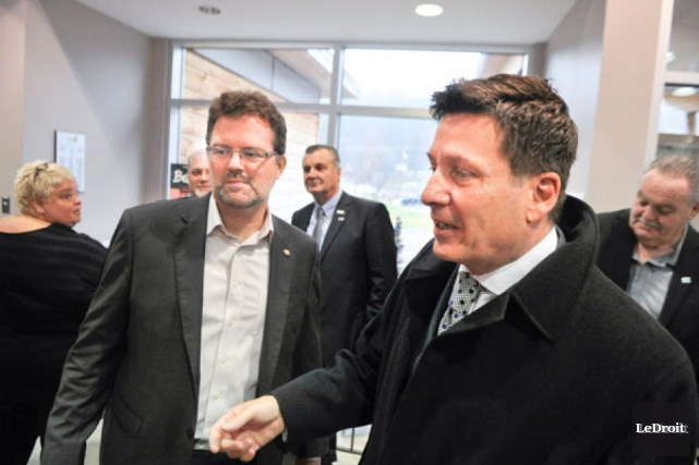 «Quand le ministre Moreau dit que nos dépenses... (Martin Roy, archives LeDroit)