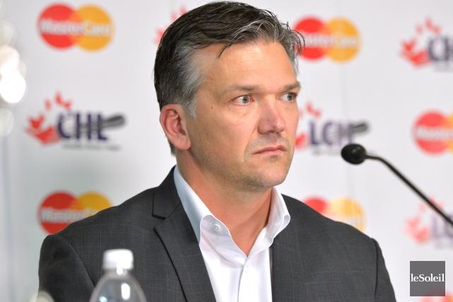 L'entraîneur des Remparts Philippe Boucher... (Le Soleil, archives Yan Doublet)