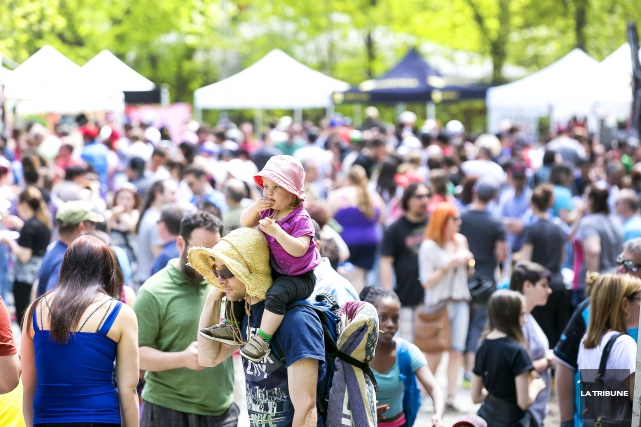 Le Festival du bacon a eu lieu en... (Imacom, Jocelyn Riendeau)