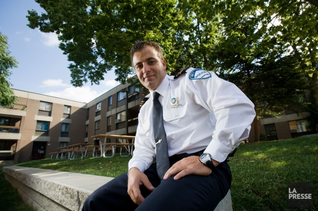 Fady Dagher, directeur adjoint au Service de police... (PHOTO DAVID BOILY, ARCHIVES LA PRESSE)