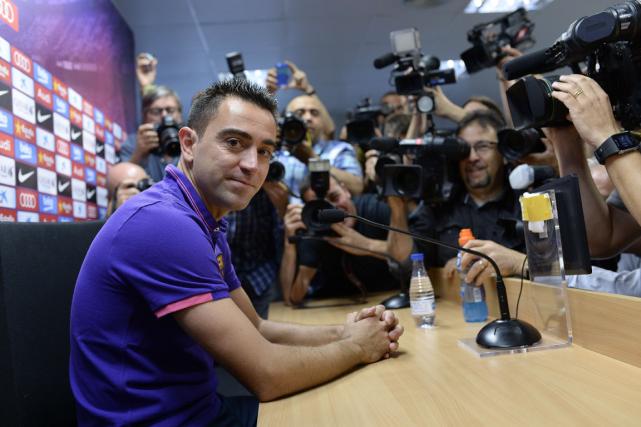 Xavi Hernandeztourne la page après 17 saisons professionnelles... (Photo Josep Lago, AFP)