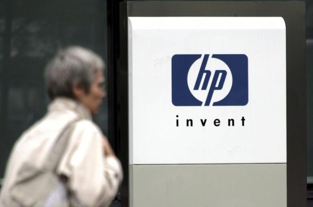 Hewlett Packardva céder pour 2,3 milliards de dollars... (PHOTO Charles Platiau, ARCHIVES REUTERS)